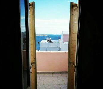 Aegean sea view - home with Cycladic beauty - Ermoupoli - Talo