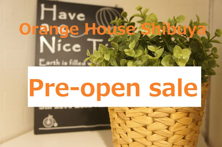 Orange House , 5mins Walking From Shibuya Station - Shibuya-ku - Huoneisto