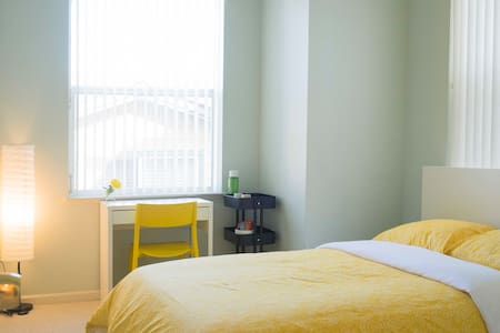 Comfortable Bright Room+Free Parking+10 Min to SFO