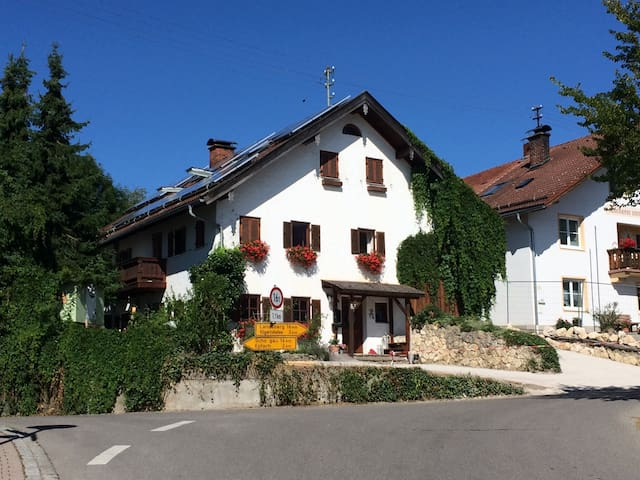Country-Style Apartment at the Romantic Road - Reichling - Ortak mülk