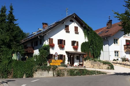 Country-Style Apartment at the Romantic Road - Reichling - Kondominium