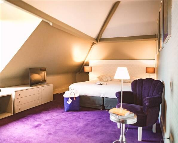 Chambre standard, avec accès au spa, près de Giverny