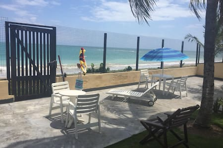 Casa frente ao mar - Ilha Itaparica-BARRA GRANDE