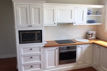 Sunny Kitchen with Smeg appliances