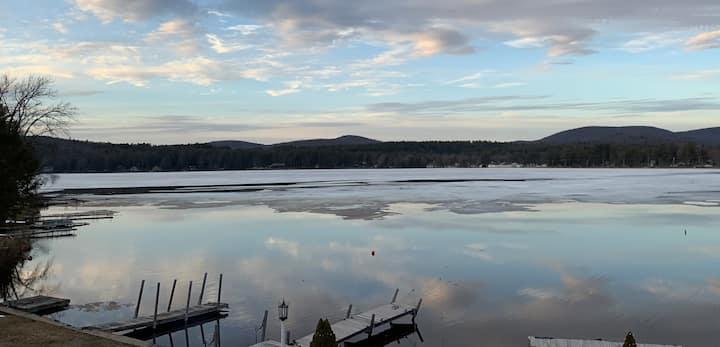 Newly Built Adirondack Cottage with Lake Views!