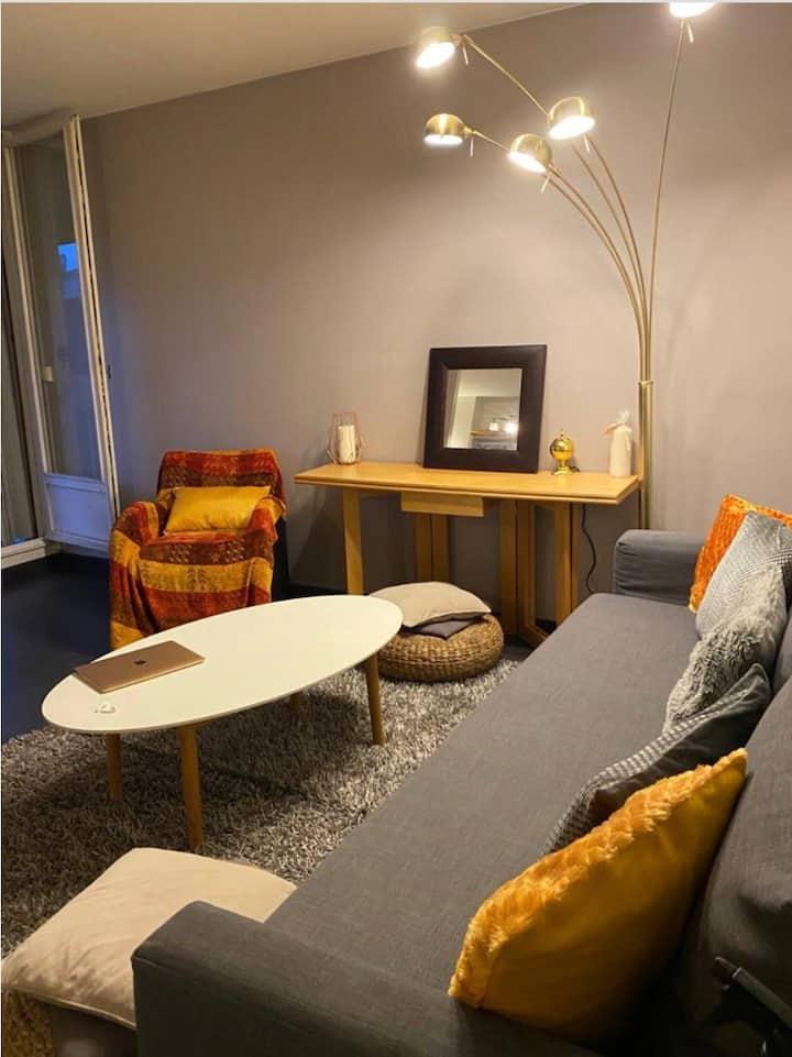 Appartement entier lumineux et agréable