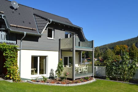 Luxury Holiday Home in Möhrenbach Thuringia with Barbecue