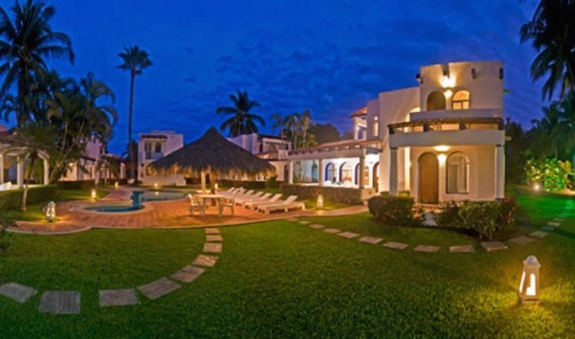 Villa con alberca 4 pers Club Santiago,Manzanillo - Manzanillo - Dom