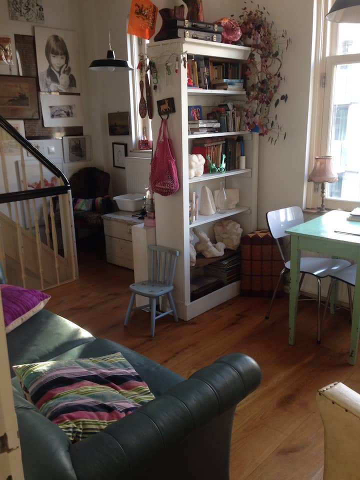Two Amsterdam Rooms, Oost, 3pp in Casa Vrolik bnb