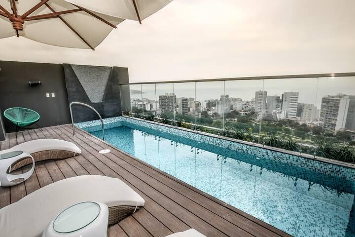 Moderno&Trendy Apartamento de Estreno Barranco
