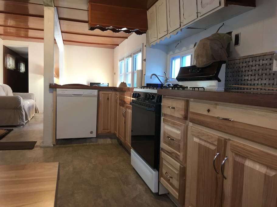 All new kitchen frig,dishwashers, stove, floors, just done for 2018