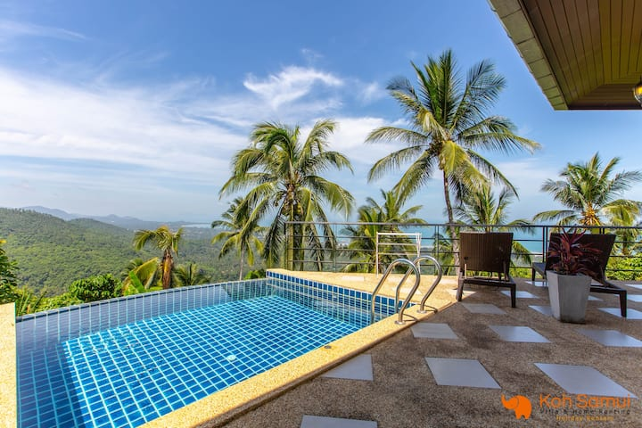 Most Relaxing 2BR + Private Pool & SeaView
