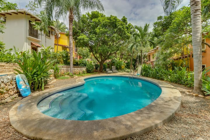 NEW LISTING! Comfortable condo w/shared pool - walk to beach