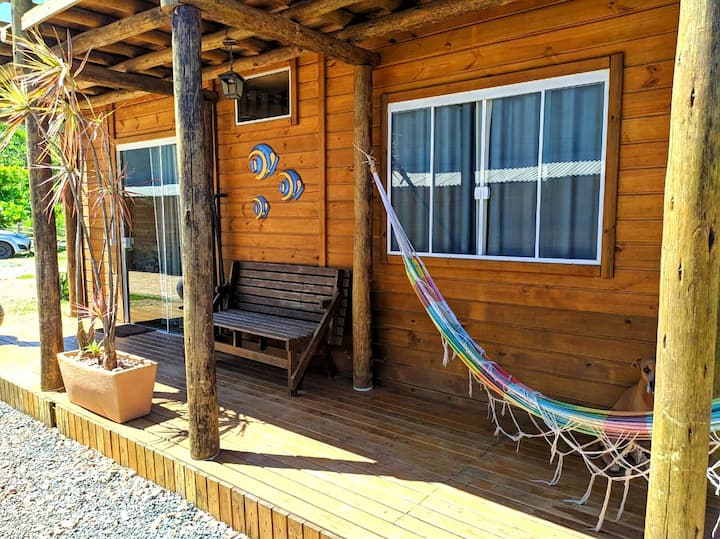 Kitnet rustico (cabana)