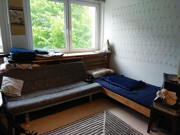 Small apartment for weekend stays