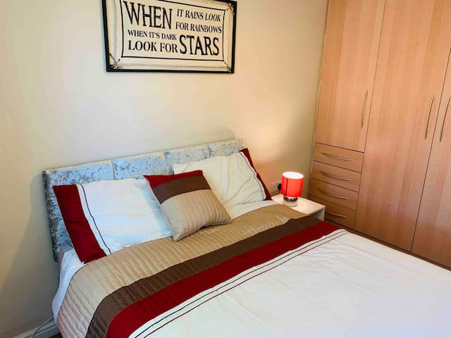 Comfortable double room in Orrell wigan .