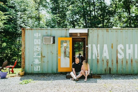 Social Isolate in our Shipping Container!