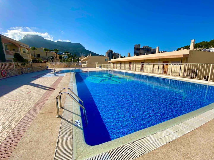Calpe bungalows cala manzanera piscina, parking 67