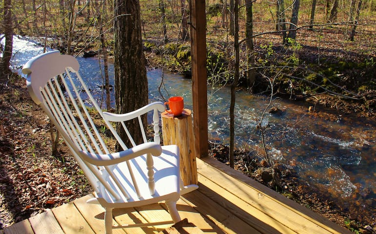 Cabin on the Creek in the Ozarks, Annapolis, MO