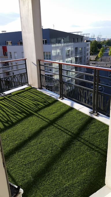 A sunny terrace for summer days