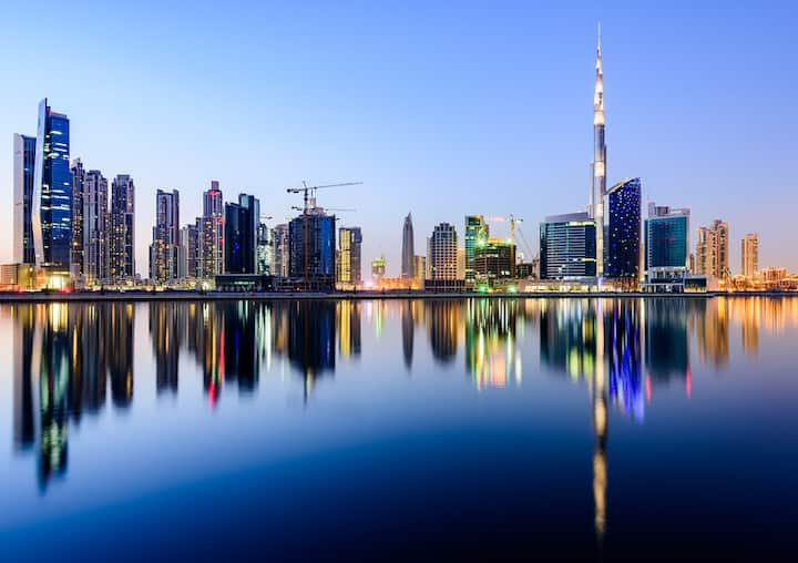 Hotel Apartment with Burj Khalifa View