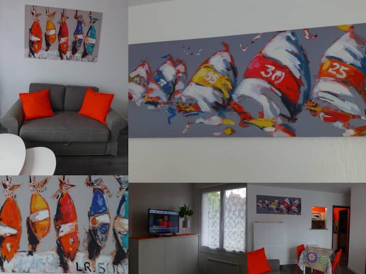 Appartement hyper agréable centre Brest + Parking