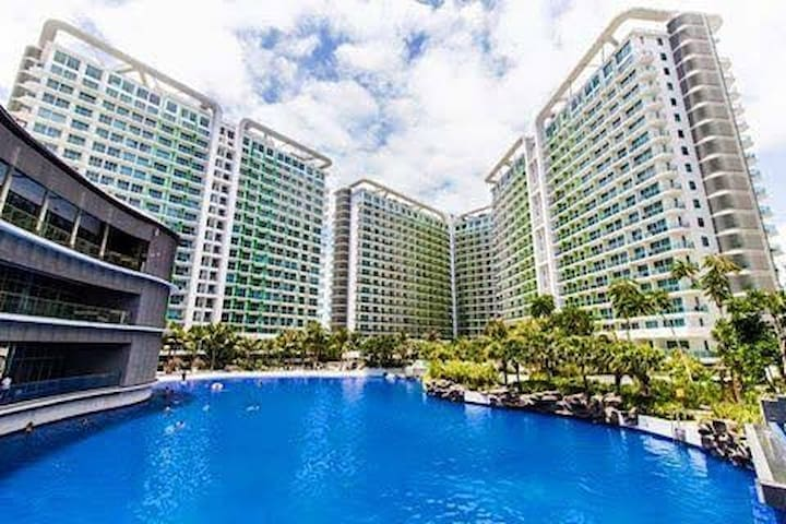 Azure Urban Resort- 2BR, Beach View,  max 6 Guests
