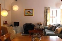 Spacious light, airy living area