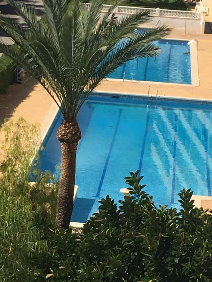 Stunning 3 Bedroom Apartment with Pool & Gardens