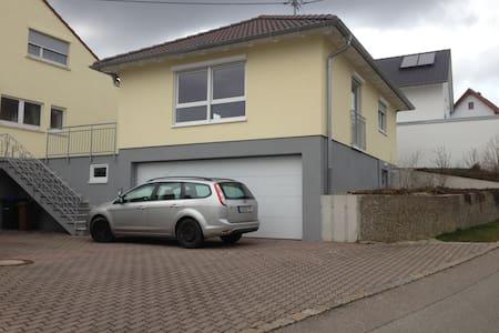 Modernes, helles Haus mit Garage - Horb am Neckar