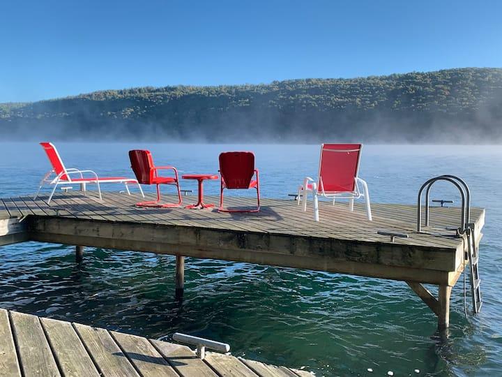 Gorgeous Lakefront Home on Skaneateles Lake
