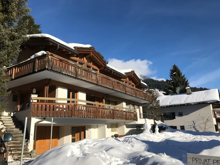 Chalet North - elegant, quiet and central position