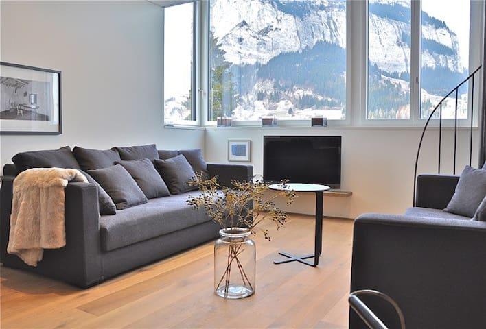 * Spacious Design Apartment (6) * - Flims - Квартира