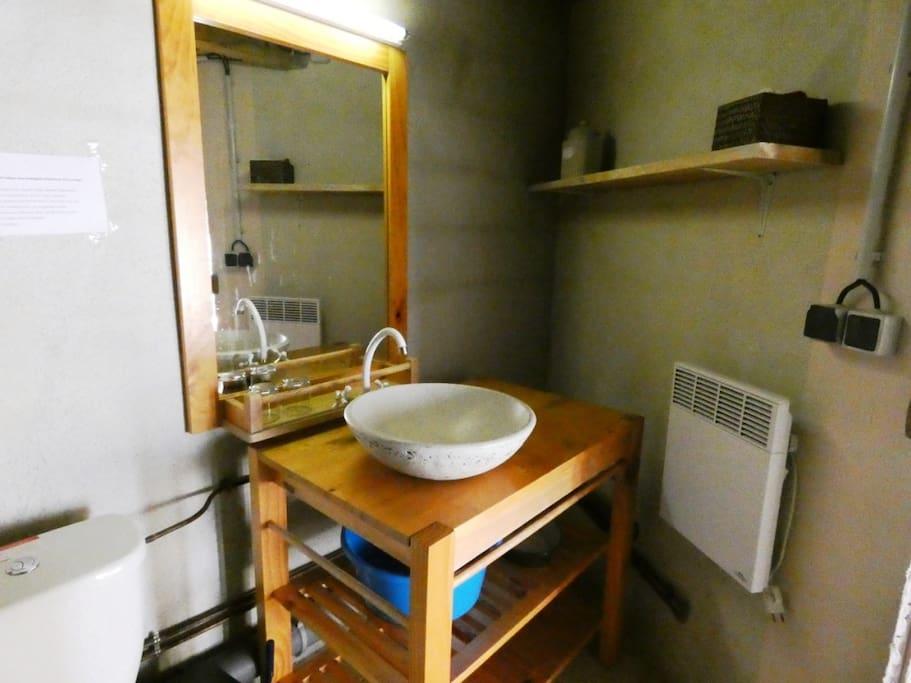 partie de salle de bains