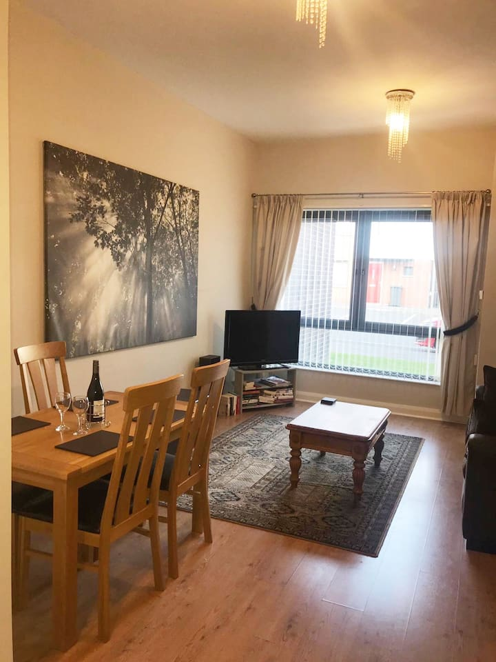 Modern Belfast Apartment in Excellent Location  Certified by NI Tourist Board