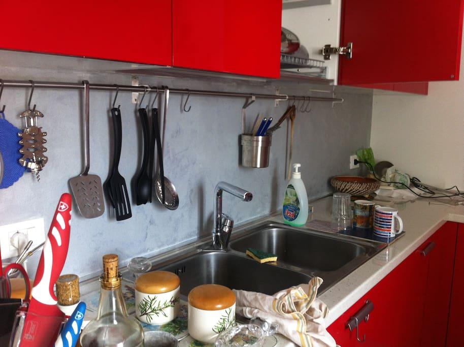cucina superfornita