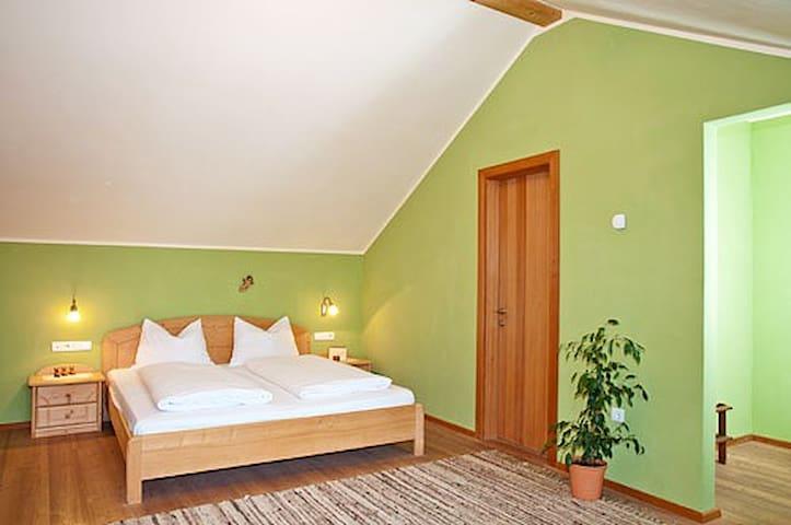 Doppelzimmer mit Dachterrasse und Talblick/süd, ÜF