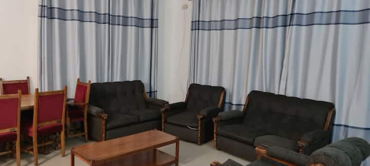 Spacious separate rooms within a large bungalow