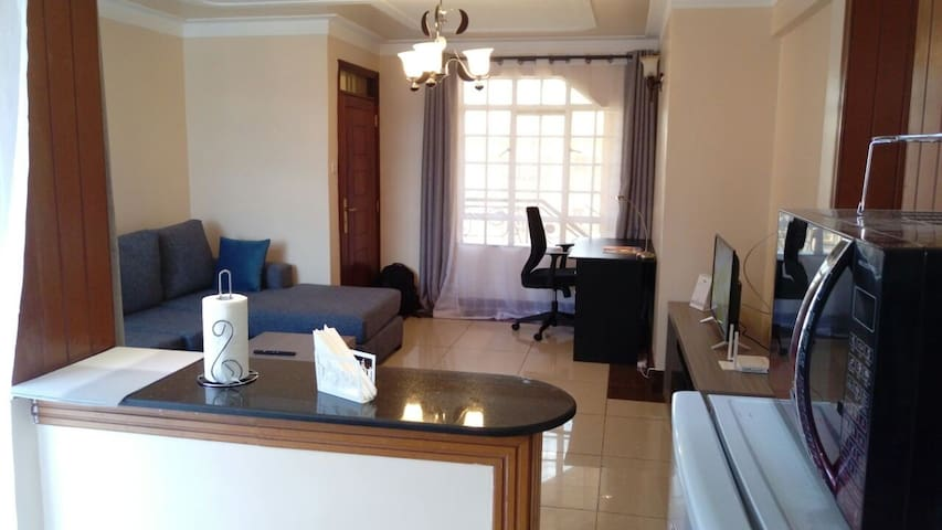 Fine Living Blue-Minimal &Stylish 1bd in Westlands