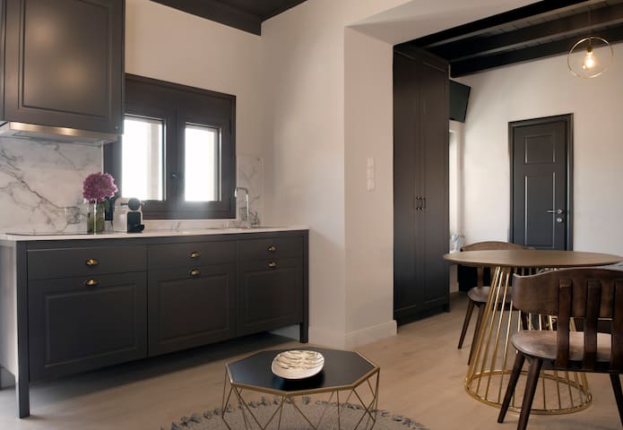 Kitchenette with Cooking Tools