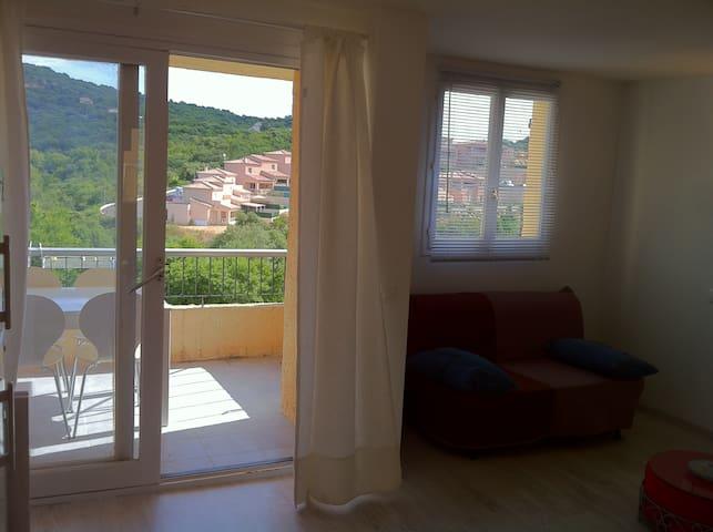 F2 4 personnes Porticcio centre avec terrasse - Grosseto-Prugna - Apartment
