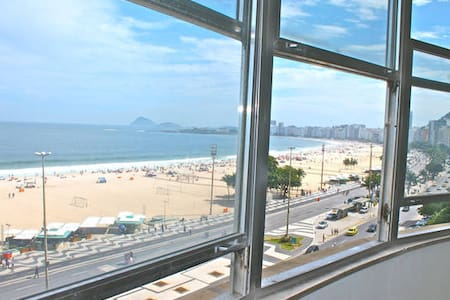 200m2 in Copacabana, facing the sea
