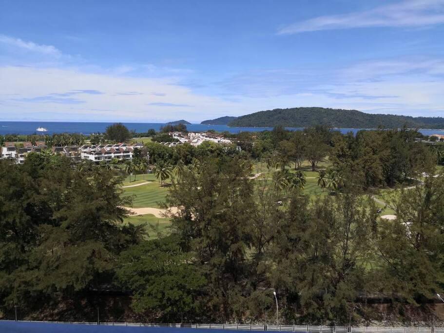Sutera Golf Course view