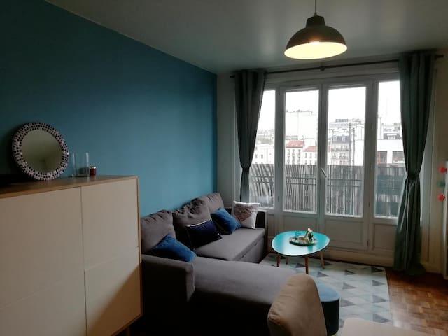 Appartement lumineux près du Parc Montsouris