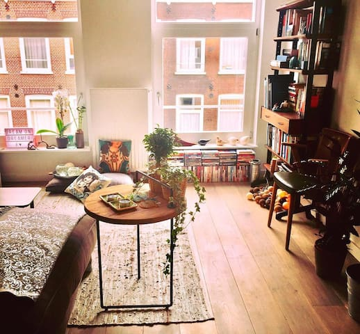 Rnovtd Stylsh Apt @heart of the BESTEST area: Pijp - Amsterdam - Daire