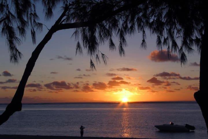 3Chambres avec vue sur mer de Flic en Flac