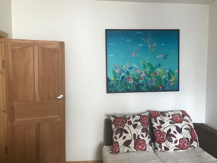 Beautiful 2 room apartment in city center