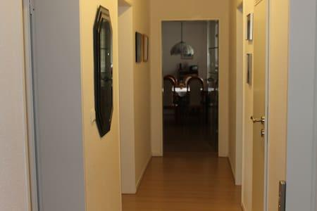 Gemütliche und gut eingerichtete Wohnung - Waltrop - Apartment