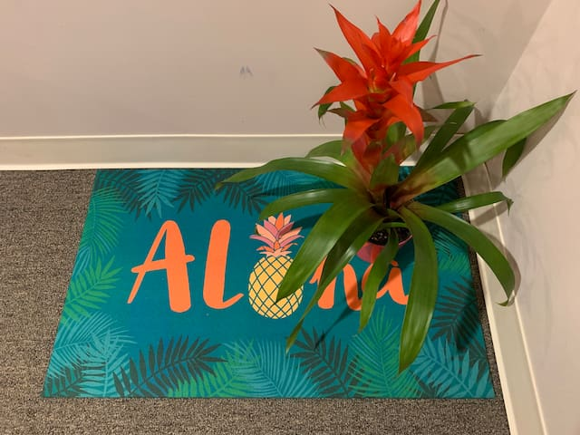 Aloha and welcome to your space!