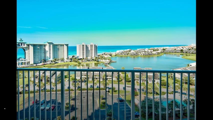 Miramar Beach Destin Condo, 12th Floor Gulf View - Destin